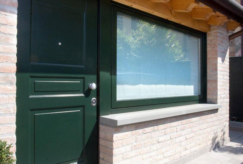 Rigo serramenti venezia treviso e padova galleria - Porta finestra blindata ...